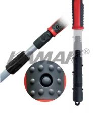 Telescopic poles up to 12 m with SafeCone